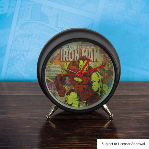 Marvel Comics Lenticular Alarm Clock