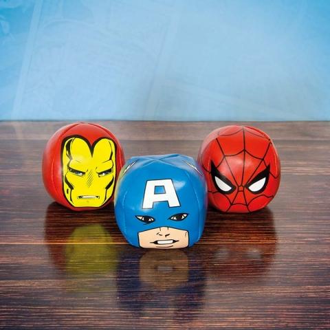 Marvel Comics Character Juggling Balls