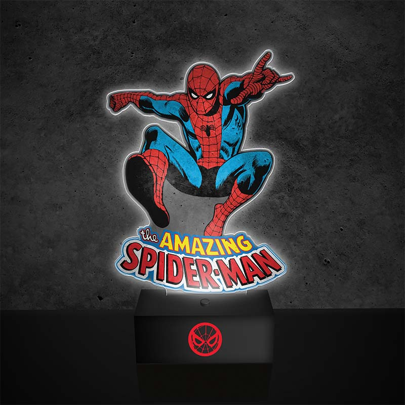 Marvel Comics Spiderman Light