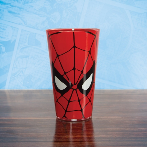 Marvel Comics Spiderman Glass