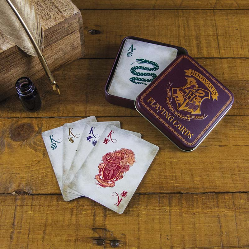 Hogwarts Playing Cards