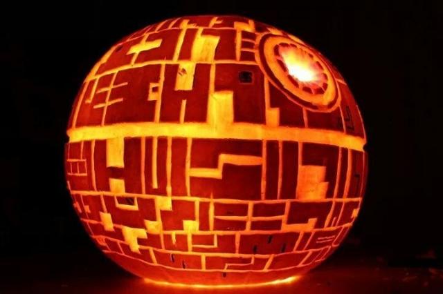 Death-Star Pumpkin