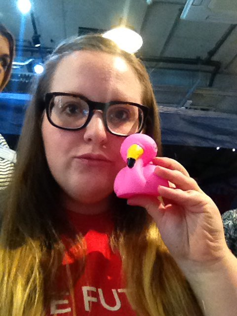 Flamingo Duck Selfie (13)