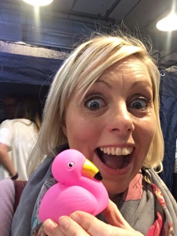 Flamingo Duck Selfie (6)