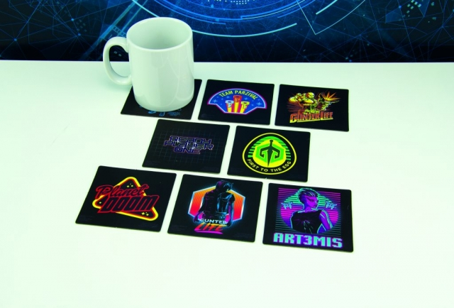 Ready Player One Card Coasters