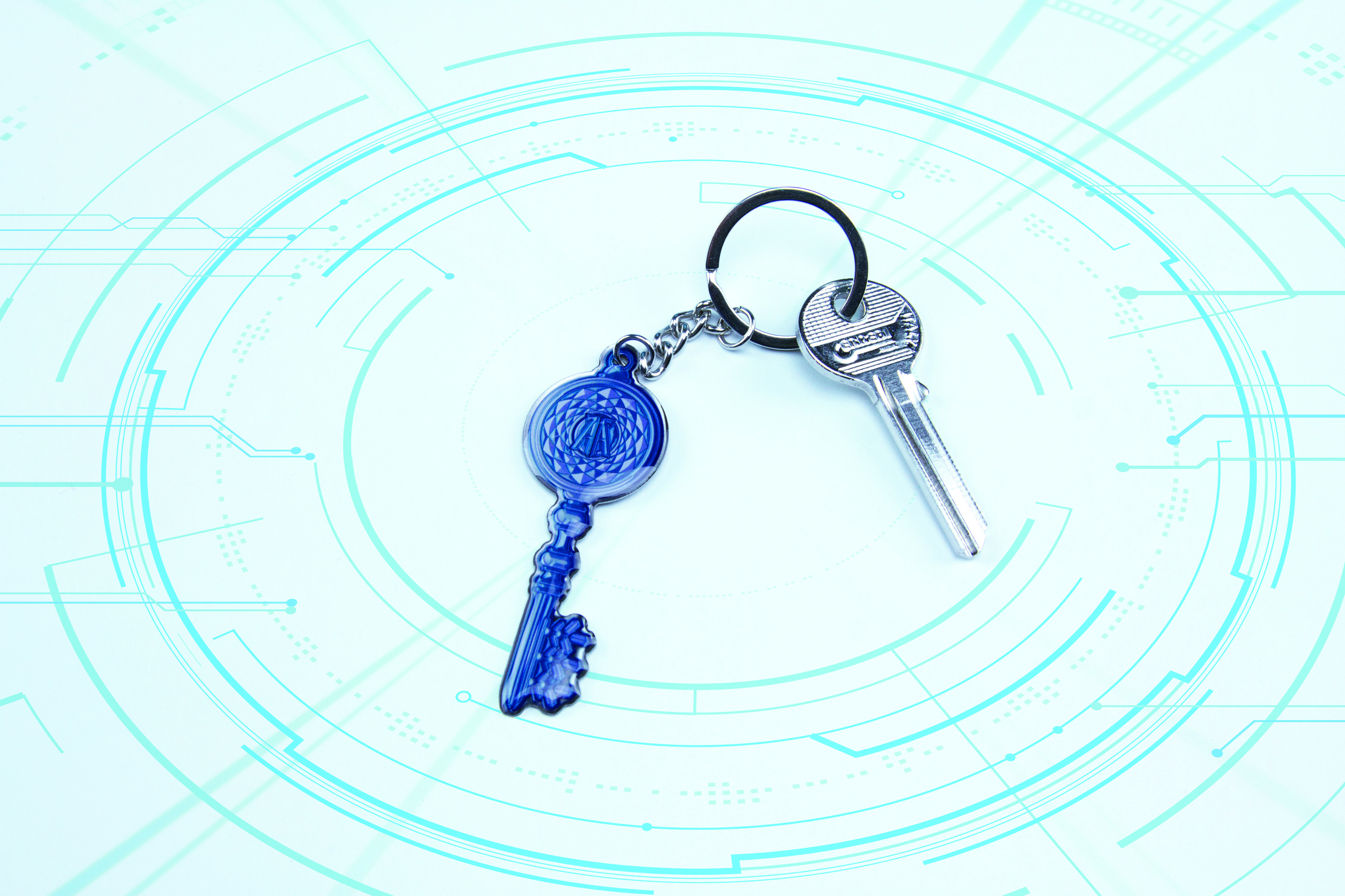 Ready Player One Crystal Key Keyring