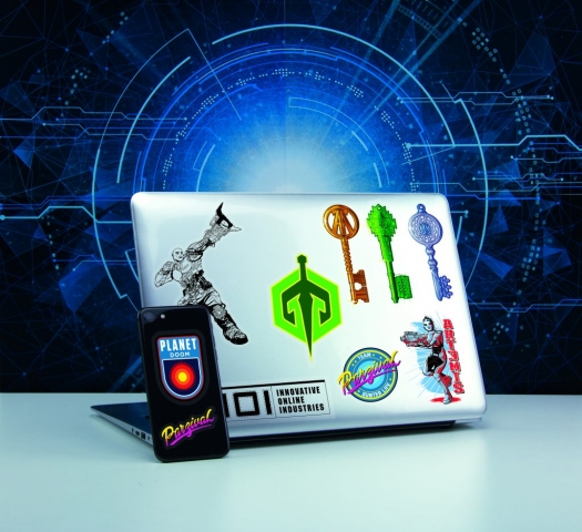 Ready Player One Gadget Decals