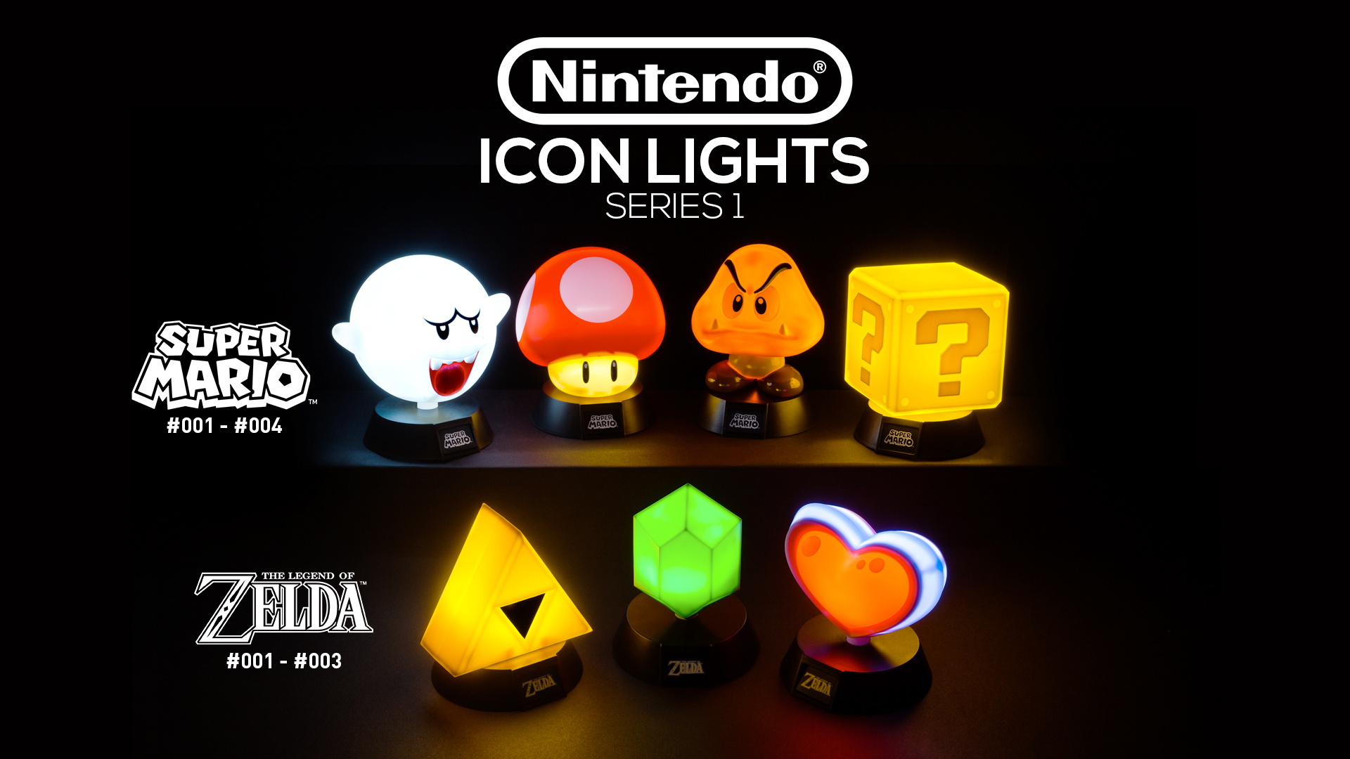 Nintendo Icon Lights Paladone