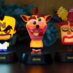 Paladone's new Crash Bandicoot Icon Lights now available