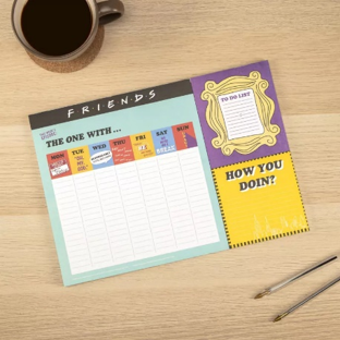 Mother's Day Gifts   Friends Weekly Planner