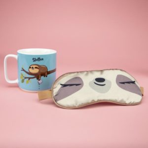 Mother's Day Gifts | Sloffee Mug and Eye Mask Pamper Gift Set