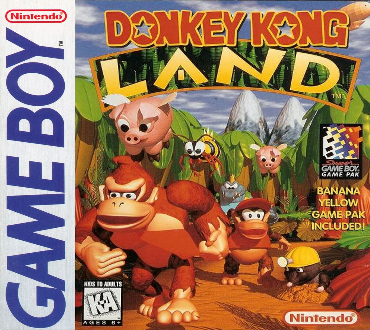 Donkey Kong Land turns 25 on June 26th