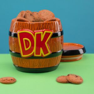 Super Mario Donkey Kong Cookie Jar | Father's Day Gift Ideas