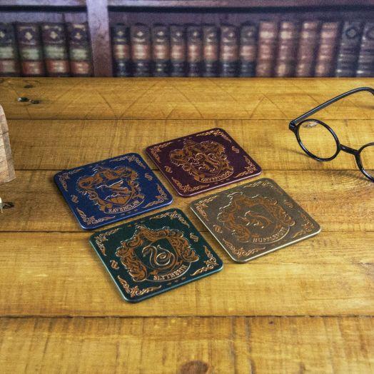 Hogwarts Crest Coasters