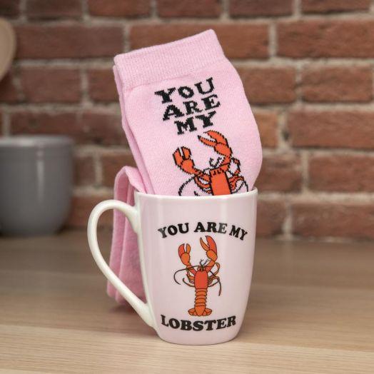 Friends Lobster Mug and Socks