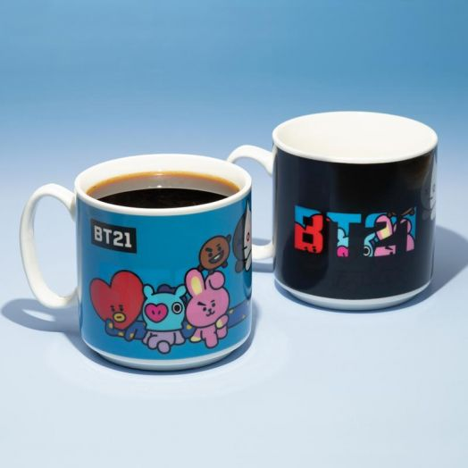 BT21 Heat Change Mug