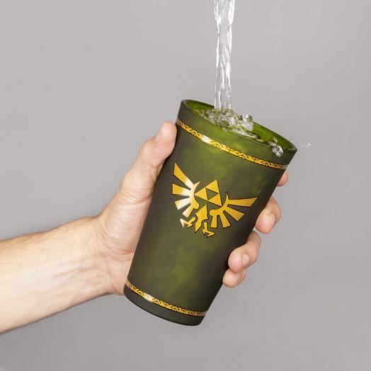 Hyrule Crest Glass