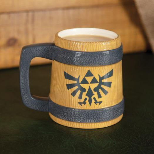 Hyrule Crest Mug