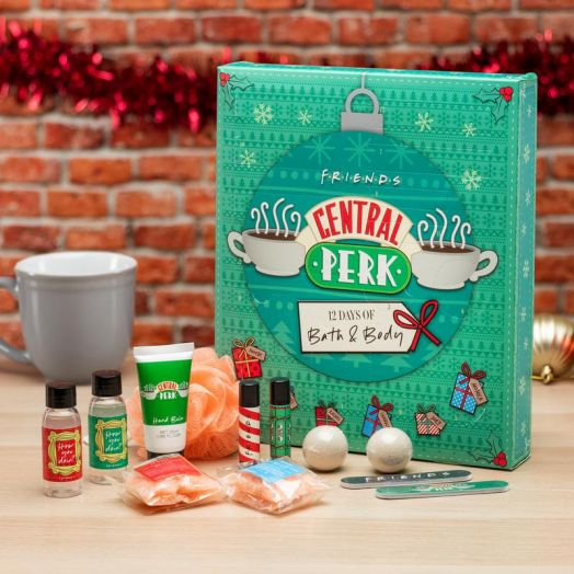 Central Perk 12 Days of Bath Advent Calendar