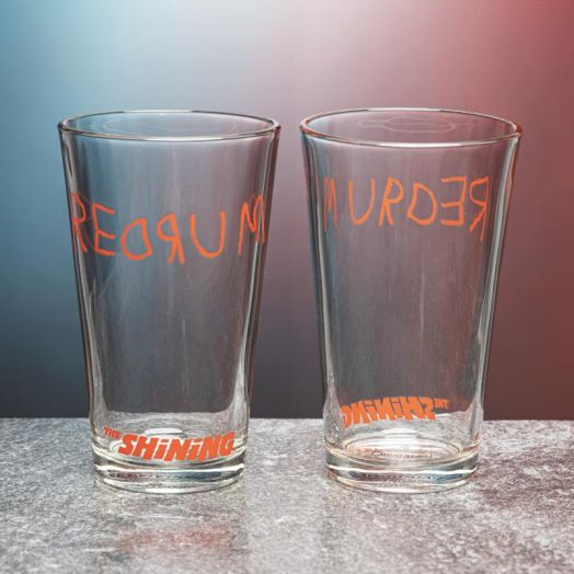 The Shining Redrum Glass