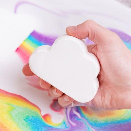Cloud Rainbow Bath Bomb