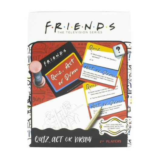 Friends Quiz Act or Draw USA