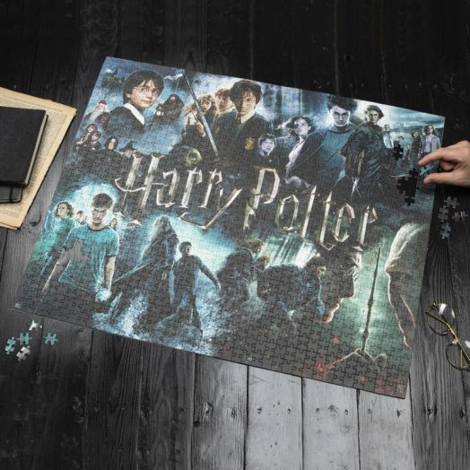 Harry Potter Jigsaw 1000pcs Posters V2