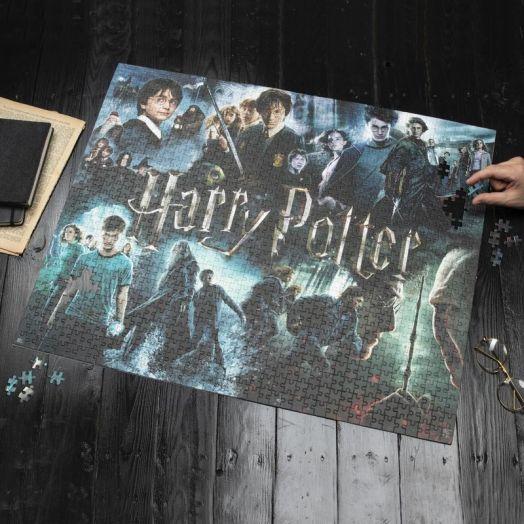 Harry Potter Jigsaw 1000pcs Posters V2