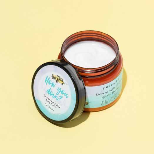 Friends Honeysuckle and Rose Body Butter