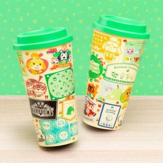 Animal Crossing Travel Mug USA