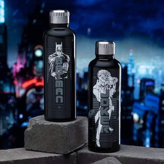 Batman Metal Water Bottle