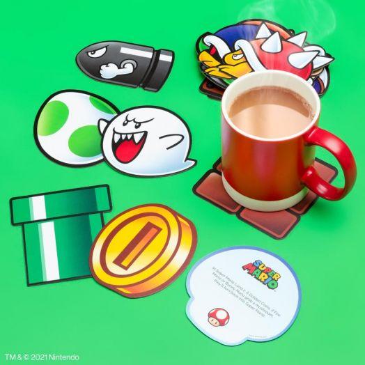Super Mario Fun Fact Coasters