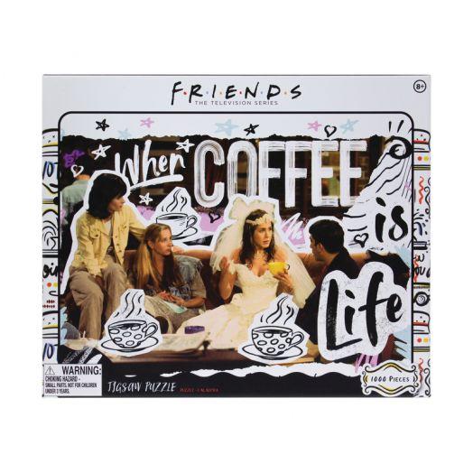 Friends Coffee Is Life Jigsaw 1000pcs USA