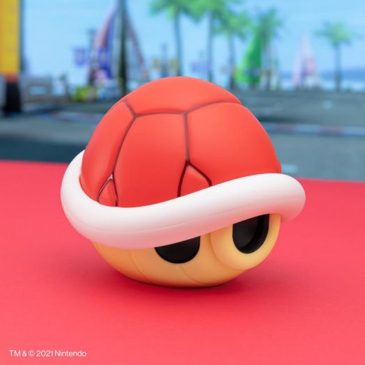 Red Shell Light with Sound