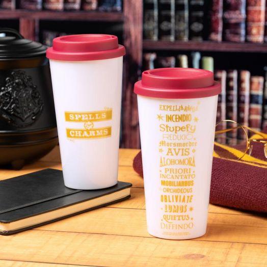 Harry Potter Spells Plastic Travel Mug