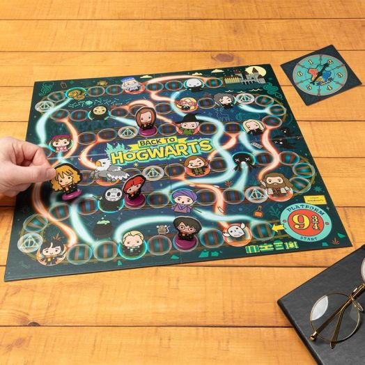 Back To Hogwarts Board Game with Spinner