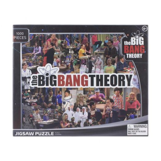 Big Bang Theory Jigsaw Puzzle 1000pc