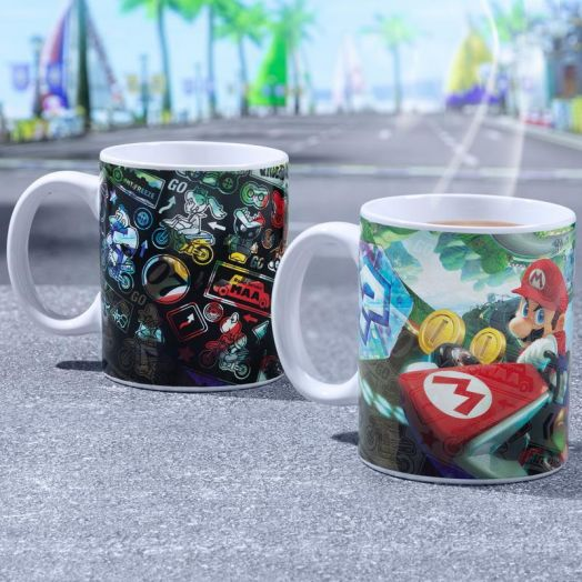 Mario Kart Heat Change Mug