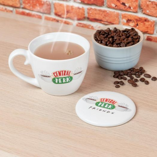 Central Perk Mug and Coaster Set