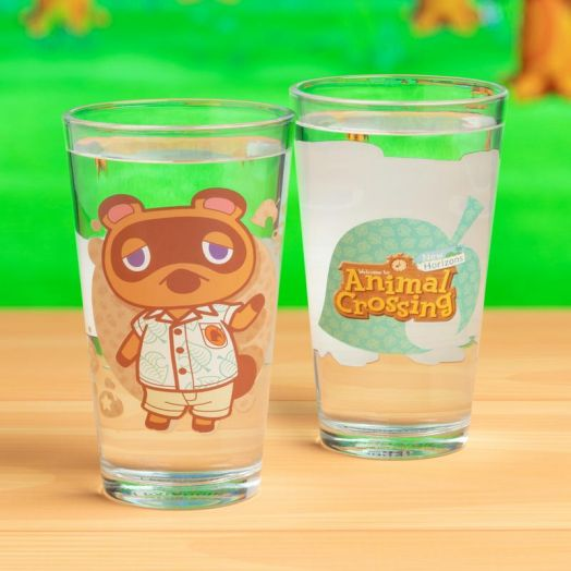 Animal Crossing Glass