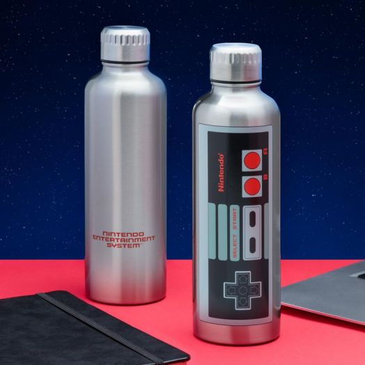 NES Metal Water Bottle