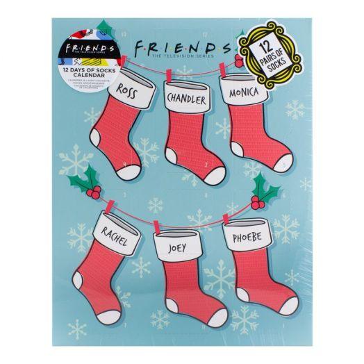Friends Sock Advent Calendar 2021