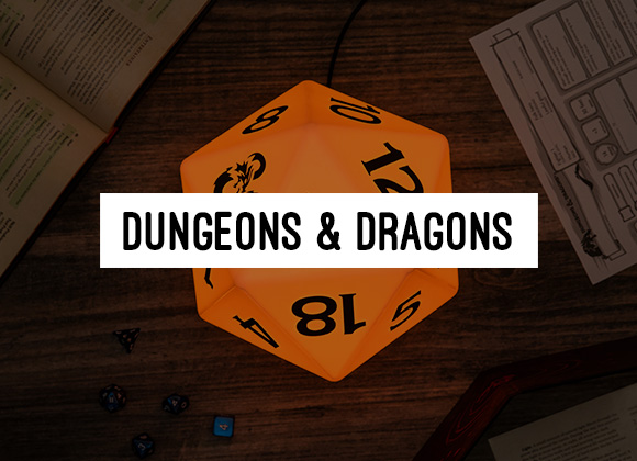 Dungeons & Dragons Merchandise | RPG Gaming Gifts